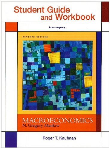 Macroeconomics  7th 2010 (Student Manual, Study Guide, etc.) edition cover