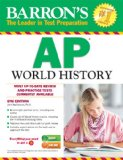 Barron's AP World History, 6th Edition  6th 2014 (Revised) edition cover