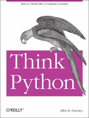 Think Python   2012 edition cover