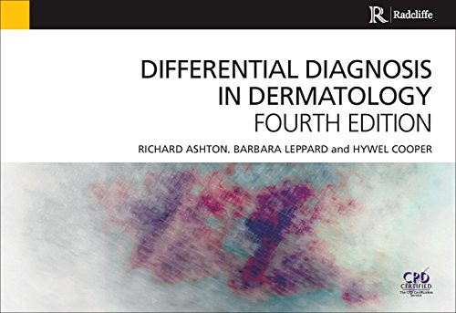 Differential Diagnosis in Dermatology  4th 2014 (Revised) edition cover
