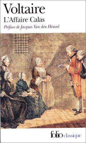 Affaire Calas et Autres Affaires   1975 edition cover