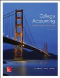 College Accounting (A Contemporary Approach):   2014 edition cover