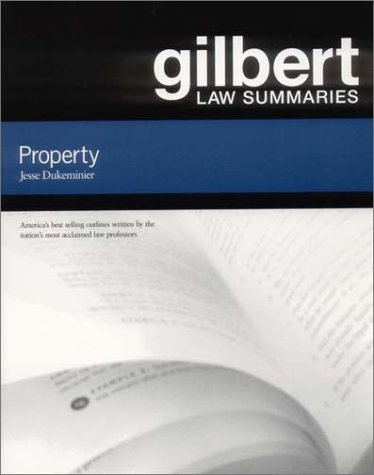 Gilbert Law Summ Prop Property 16th 2002 (Revised) edition cover