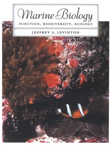 Marine Biology Function, Biodiversity, Ecology  1995 edition cover