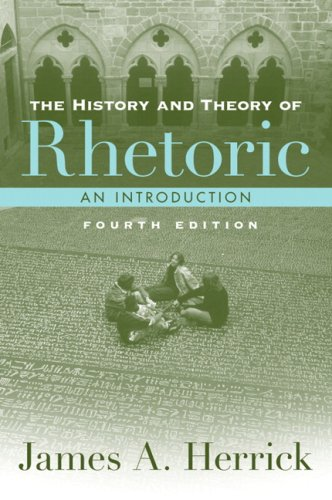 History and Theory of Rhetoric  4th 2009 edition cover