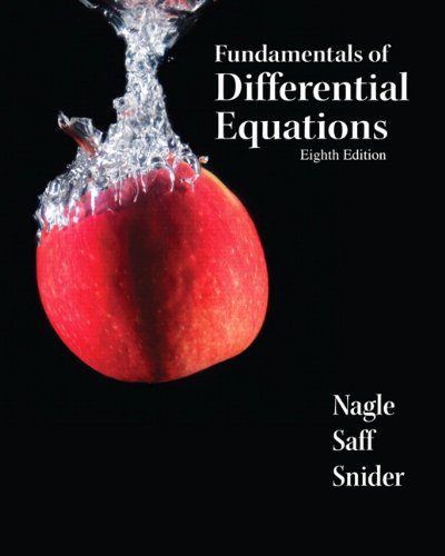 Fundamentals of Differential Equations  8th 2012 9780321747730 Front Cover