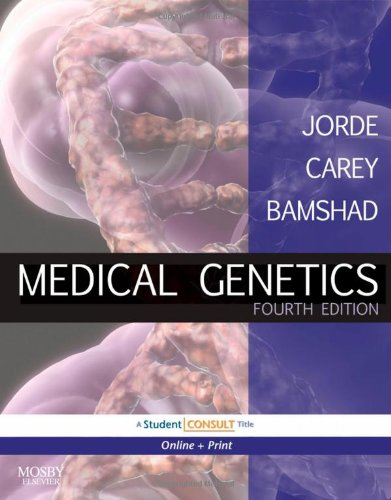 Medical Genetics With STUDENT CONSULT Online Access 4th 2010 edition cover