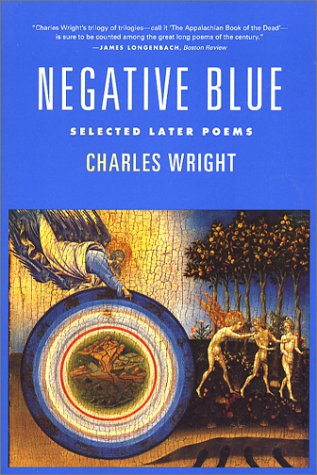 Negative Blue Selected Later Poems N/A edition cover