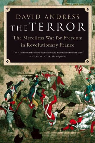 Terror The Merciless War for Freedom in Revolutionary France N/A edition cover