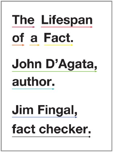 Lifespan of a Fact   2012 edition cover