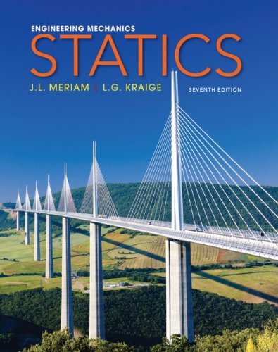 Engineering Mechanics - Statics  7th 2012 edition cover