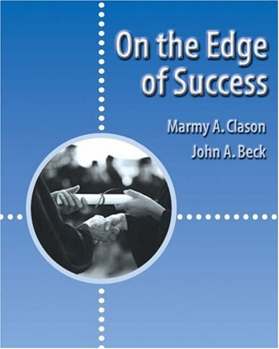 On the Edge of Success   2003 9780534569730 Front Cover