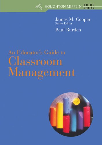 Classroom Management  7th 2005 edition cover