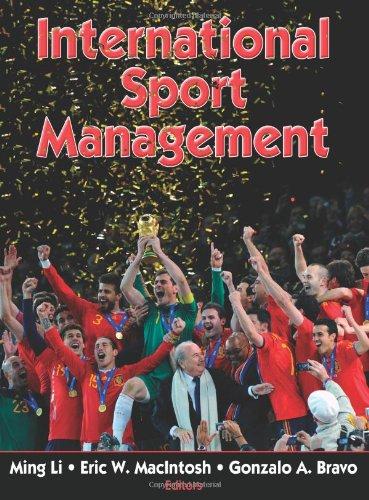 International Sport Management   2011 edition cover