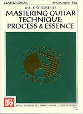 Mastering Guitar Technique Process and Essence  1997 edition cover