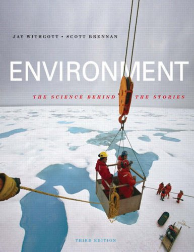 Environment The Science Behind the Stories 3rd 2008 edition cover