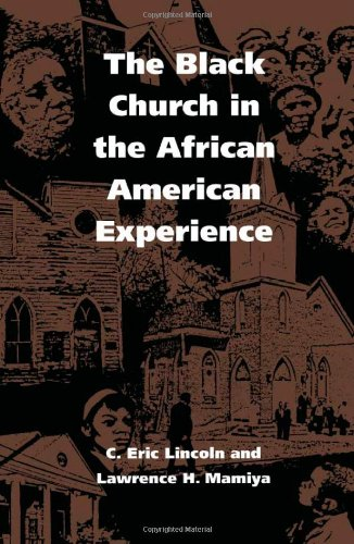 Black Church in the African American Experience  N/A edition cover