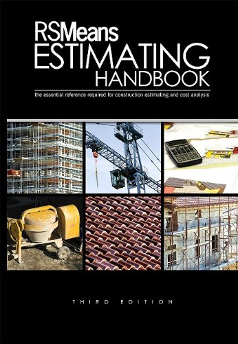 RSMeans Estimating Handbook  3rd 2009 edition cover