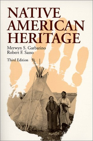 Native American Heritage  3rd 1994 9780881337730 Front Cover