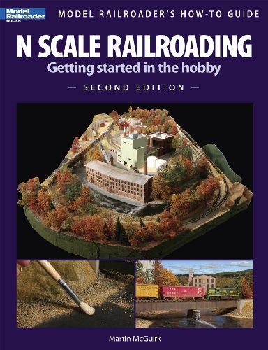 N Scale Railroading Getting Started in the Hobby 2nd 2009 edition cover