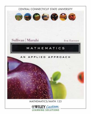 Mathematics Applied... <Custom> N/A edition cover