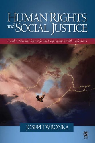 Human Rights and Social Justice Social Action and Service for the Helping and Health Professions  2008 edition cover