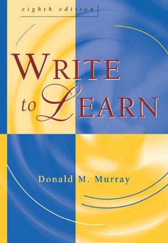Write to Learn  8th 2005 (Revised) edition cover