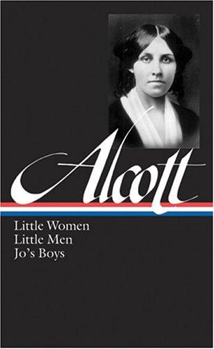 Alcott Little Women, Little Men, Jo's Boys  2005 edition cover
