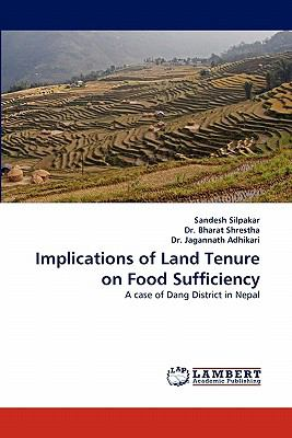 Implications of Land Tenure on Food Sufficiency N/A 9783838385730 Front Cover