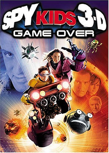 Spy Kids 3-D Game Over (Two-Disc Collector's Series) System.Collections.Generic.List`1[System.String] artwork