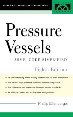 Pressure Vessels ASME Code Simplified 8th 2004 (Revised) edition cover