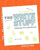 Write Stuff Thinking Through Essays Plus MyWritingLab with Pearson EText -- Access Card Package 3rd 2015 9780134036731 Front Cover