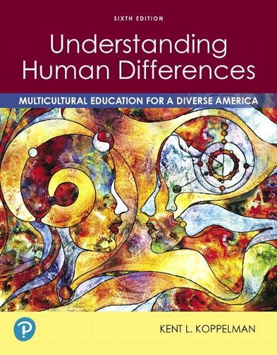Understanding Human Differences: Multicultural Education for a Diverse America  2019 9780135196731 Front Cover