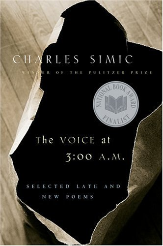 Voice at 3:00 A. M.   2003 9780156030731 Front Cover