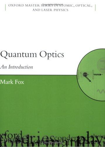 Quantum Optics An Introduction  2006 edition cover