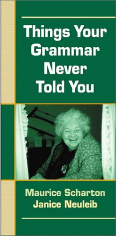 Things Your Grammar Never Told You A Pocket Handbook 2nd 2002 (Revised) edition cover