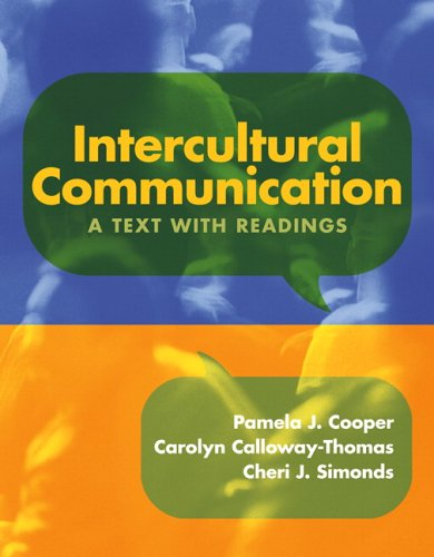 Intercultural Communication A Text with Readings  2007 edition cover