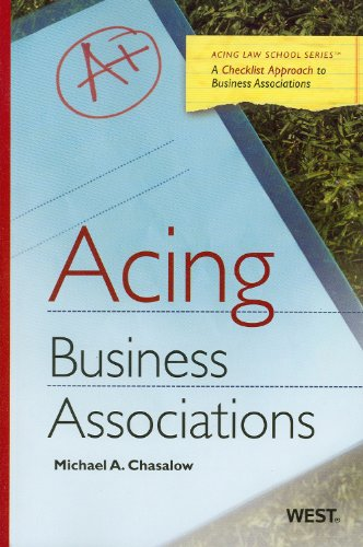 Business Associations   2012 edition cover