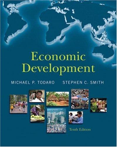 Economic Development  10th 2009 edition cover