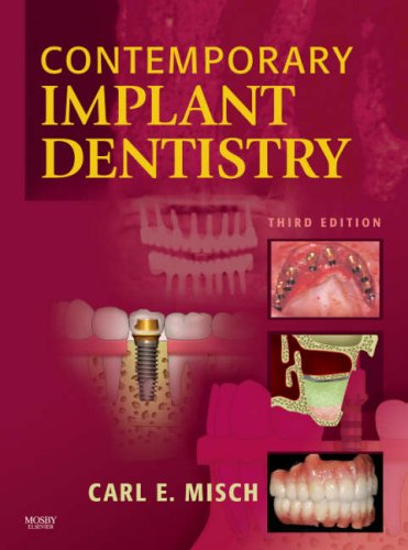 Contemporary Implant Dentistry  3rd 2008 edition cover