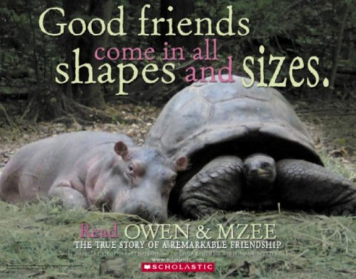 Owen and Mzee The True Story of a Remarkable Friendship  2006 edition cover