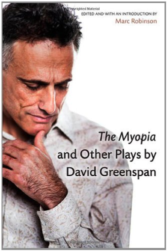 Myopia and Other Plays by David Greenspan   2012 9780472051731 Front Cover