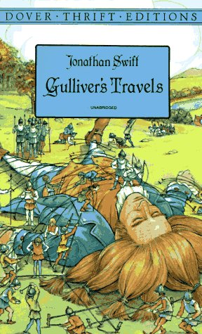 Gulliver's Travels   1996 9780486292731 Front Cover
