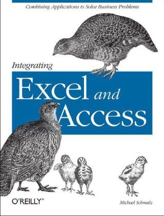 Integrating Excel and Access   2005 9780596009731 Front Cover