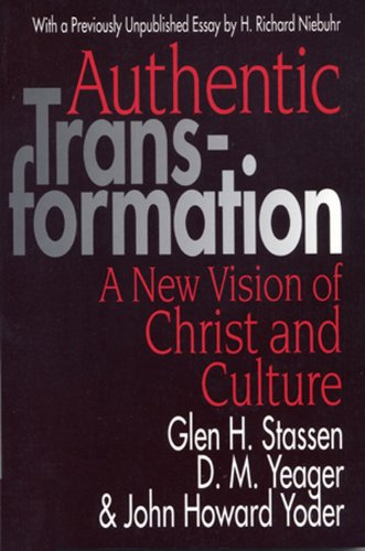 Authentic Transformation A New Vision of Christ and Culture  1996 edition cover