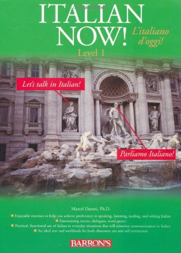 Italian Now! A Level One Worktext  2005 edition cover