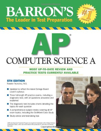 Barron's AP Computer Science A  5th 2010 (Revised) edition cover