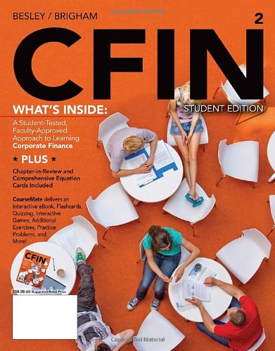 Cfin2 (With Finance Coursemate Printed Access Card)  2nd 2012 9781111533731 Front Cover