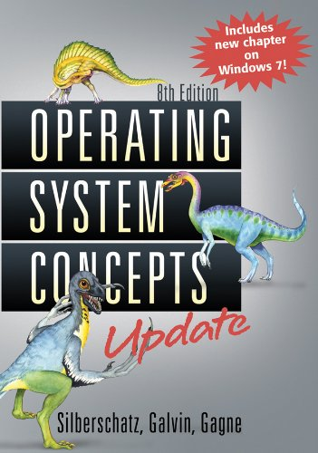 Operating System Concepts  8th 2012 (Revised) edition cover
