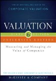 Valuation: Measuring and Managing the Value of Companies, University Edition  2015 edition cover